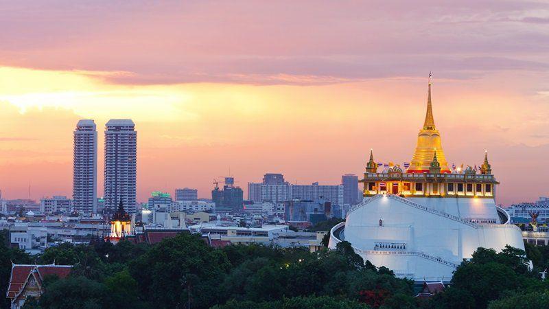 Photo of Colorful Capitals, Laos Thailand Cambodia Multi-Country