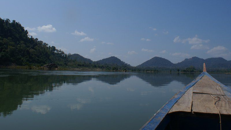 Photo of The Mighty Mekong, Asia's Lifeblood, Laos Thailand Vietnam Myanmar Cambodia Multi-Country